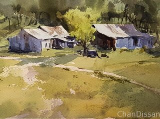 Chan Dissanayake   2021   Country   Watercolour   unknown size
