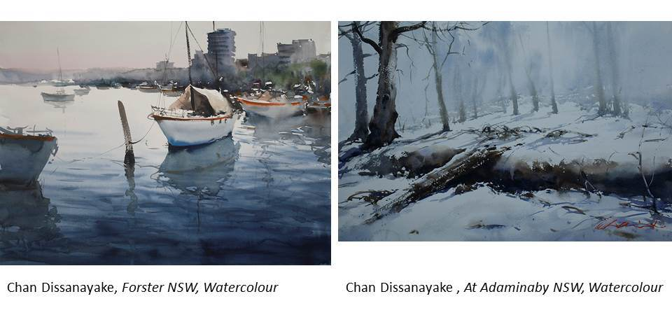 CHAN DISSANAYAKE Workshop – Watercolour Impressions
