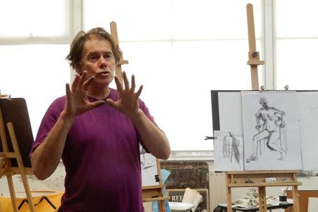 Noel Thurgate 2018 Life Drawing Workshop