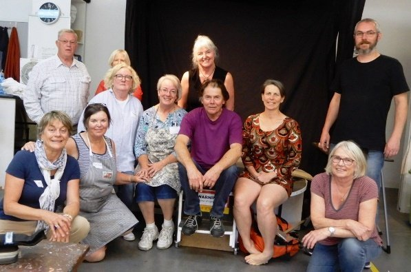 Noel Thurgate 2018 Life Drawing Workshop | Canberra Art Workshop