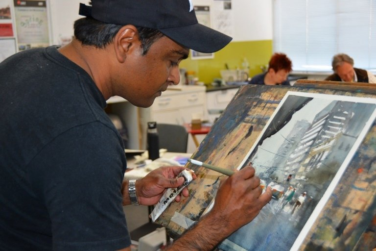 Dissanayake Watercolour Workshop