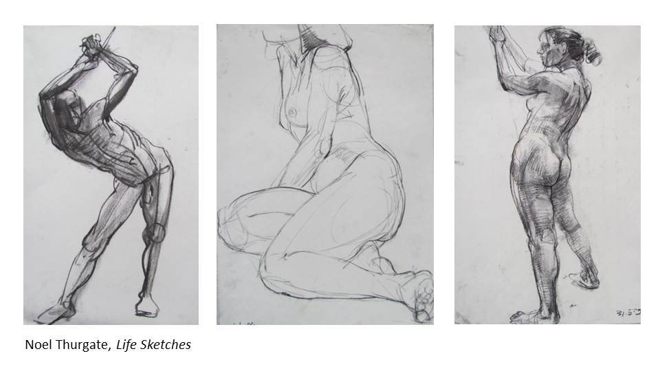 NOEL THURGATE Workshop – Dynamic Life Drawing