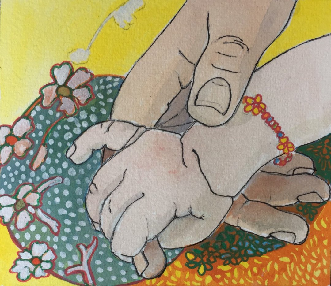 Prue POWER | Hand In Hand | Mixed Media | 2021